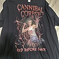 Cannibal Corpse - TShirt or Longsleeve - Cannibal corpse. Red before black tour. T shirt