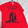Cannibal Corpse - TShirt or Longsleeve - Cannibal corpse. Red before black tour. Shirt