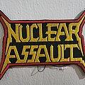 Nuclear Assault - Patch - Hells Headbangers Records