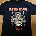 Iron Maiden - TShirt or Longsleeve - Iron Maiden Senjutsu Samurai Eddie Graphic Navy Shirt