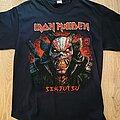 Iron Maiden - TShirt or Longsleeve - Iron Maiden Senjutsu Back Cover Death Snake Shirt