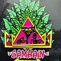 Samhain - Pin / Badge - Samhain - Natas skateboard mashup pin