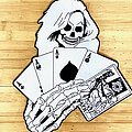 Samhain - Patch - Samhain - Death Dealer back patch