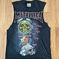 Metallica - TShirt or Longsleeve - Vintage Metallica Pushead Life is Pain Sleeveless Tee XS