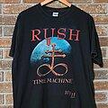 Rush - TShirt or Longsleeve - Rush Time Machine 10/11 Tour Shirt Large
