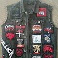 Black - Battle Jacket - Front Battle Vest Number 1