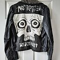 Witch Hunt - Battle Jacket - Old handpainted fake leather