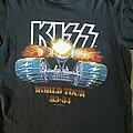 Kiss - TShirt or Longsleeve - Kiss tour shirt 83-84