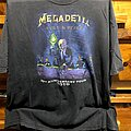 Megadeth - TShirt or Longsleeve - Megadeth • 20th anniversary • Rust in Peace Tour Tshirt