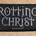 Rotting Christ - Patch - Rotting Christ Patch - Logo