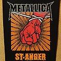 Metallica - Patch - Metallica Backpatch - St. Anger