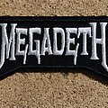 Megadeth - Patch - Megadeth Patch - Logo Shape