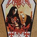 Mayhem - Patch - Morbid/ Mayhem Coffin Backpatch