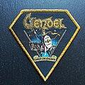 Vendel - Patch - Slayed not Enslaved - Patch, Gold Border