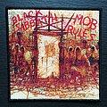 Black Sabbath - Patch - Black Sabbath - Mob rules - Patch, Black Border