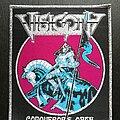 Visigoth - Patch - Conqueror's Oath - Patch, Silver Border