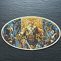 Warrior Path - Patch - Warrior Path - Mad King - Patch, Gold Border