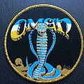 Omen - Patch - Warning of Danger - Patch, Gold Border