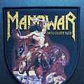 Manowar - Patch - Manowar - Into Glory Ride - Patch, Black Border