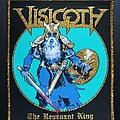 Visigoth - Patch - The Revenant King - Patch, Gold Border
