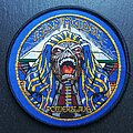 Iron Maiden - Patch - Powerslave - Patch, Blue Border