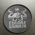 Thronehammer - Patch - Logo - Patch, Round