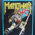 Manowar - Patch - Manowar - Hail to England - Patch, Blue Border