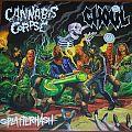 "Cannabis Corpse/Ghoul - Splatterhash split 12"" vinyl"