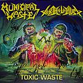 "Toxic Waste split 12""s (w/ Municipal Waste & Toxic Holocaust) (signed) Tape / Vinyl / CD / Recording etc"
