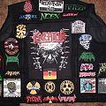 Black denim vest (work in progress)
