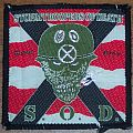 S.O.D. Speak English or Die orig. woven patch