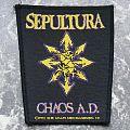 SEPULTURA - Chaos A.D. - Chaos Symbol - Patch
