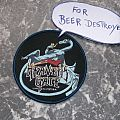 HEAVENS GATE - Livin in Hysteria - Patch for Beer Destroyer