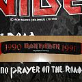 IRON MAIDEN - No Prayer on the Road 1990 - 1991 - Tour Scarf