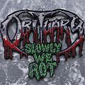 [shaped] OBITUARY - Slowly We Rot - Patch