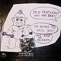 PESTILENCE - Testimony Spheres - for Cambotero Pin / Badge