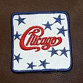 CHICAGO Logo with stars vintage embroidered patch
