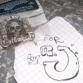 ENTOMBED - Pin 1993 - for R.J. Other Collectable
