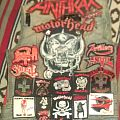 Death - Battle Jacket - Red and Black Motörhead Vest