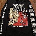 Napalm Death - TShirt or Longsleeve - Napalm Death Harmony Corruption Long Sleeve