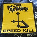 Bombarder - Patch - Bombarder - Speed Kill (1989) embroidered patch