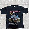 Iron Maiden - TShirt or Longsleeve - Iron Maiden somewhere back in time world tour 2008 australian version