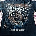 Suffocation - TShirt or Longsleeve - Suffocation souls to deny allover shirt