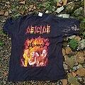 Deicide - TShirt or Longsleeve - Deicide amon feasting the beast tour 1993