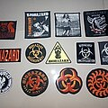 Sepultura - Patch - Sepultura and biohazard patches