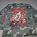Kreator - TShirt or Longsleeve - Kreator - Pleasure to kill camo shirt