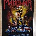 Manowar - Patch - Manowar -  Kings of Metal Backpatch
