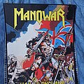 Manowar - Patch - Manowar - Hail to England woven Backpatch