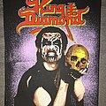 King Diamond - Patch - King Diamond Original 1991 Back Patch