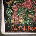 Autopsy - Patch - Autopsy mental funeral 1991 back patch